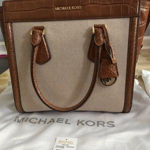 73ed3200bd Michael Kors Colette Large Satchel